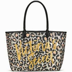 Victoria's Secret Animal Print Tote Bag